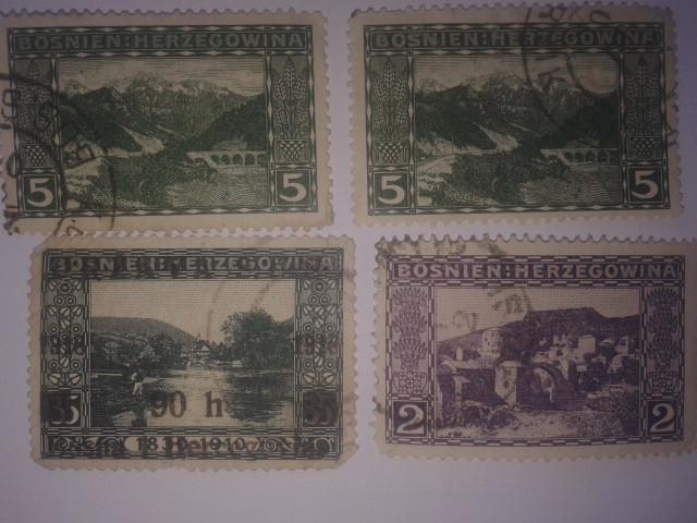 """Briefmarken - Briefmarken """"Bosnien : Herzegowina"""", """"KuK Feldpost"""", """"Jugoslavija"""", """"Srbija"""" Fotogr11"""