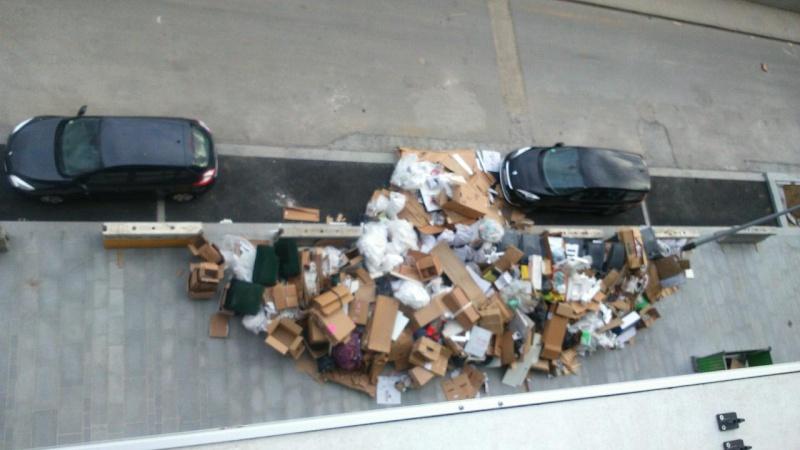 Ramassage des poubelles Ordure10