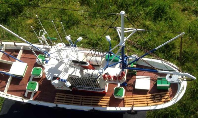 Carmen II rebaptisé l'Aurora ai 1/40 de chez Artesania Latina Thonie31