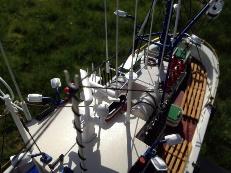 Carmen II rebaptisé l'Aurora ai 1/40 de chez Artesania Latina Thonie33