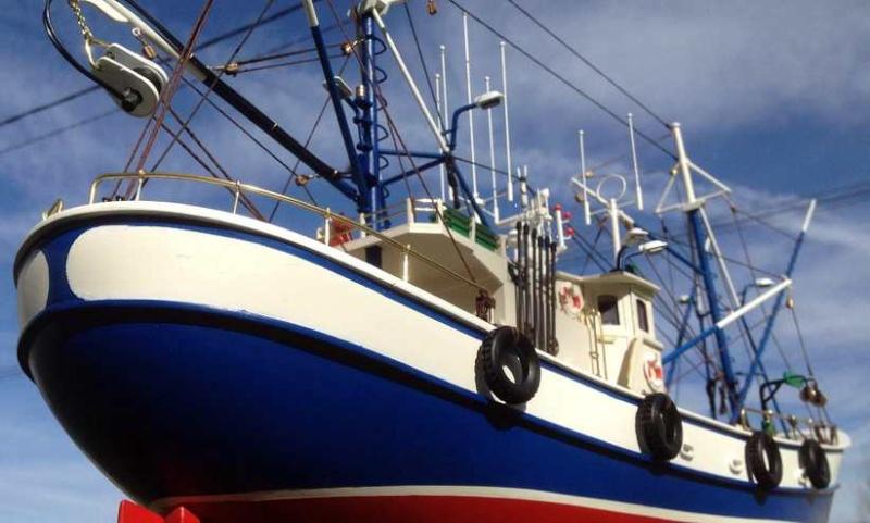 Carmen II rebaptisé l'Aurora ai 1/40 de chez Artesania Latina Thonie45