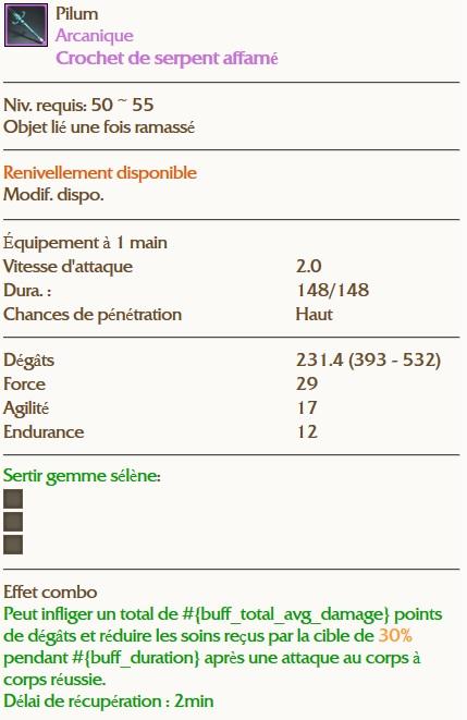 [DJ] GHA: Grand Abysse Rugissant Loot510