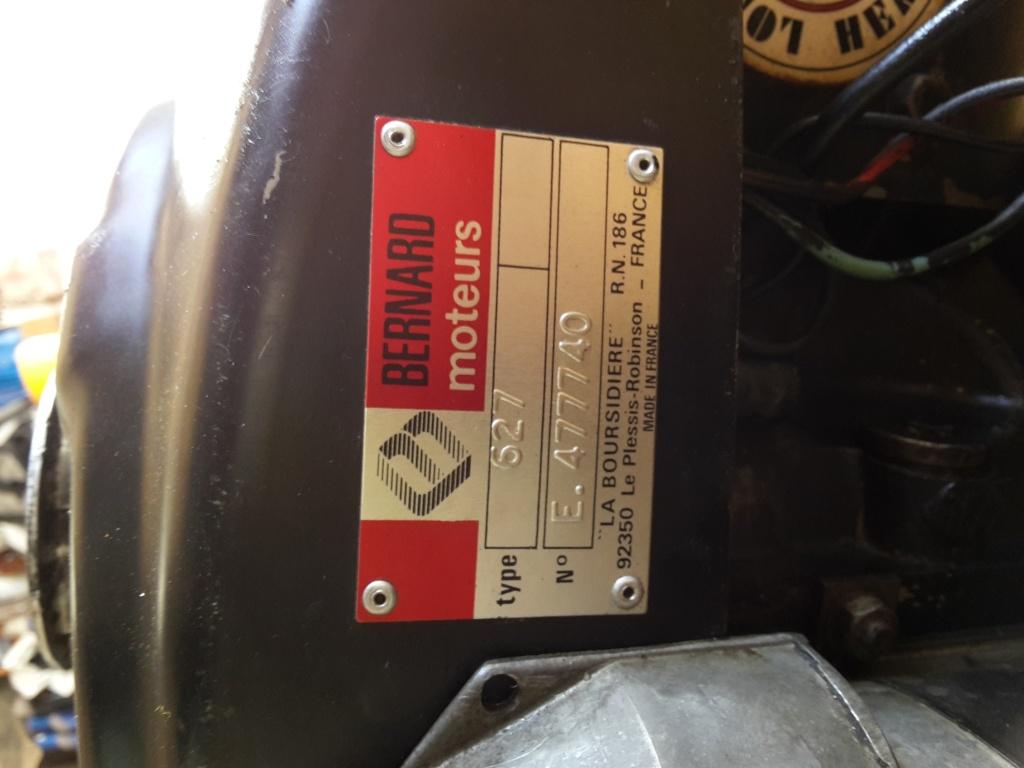 remise a neuf tracteur tondeuse BERNARD BM749 20150718