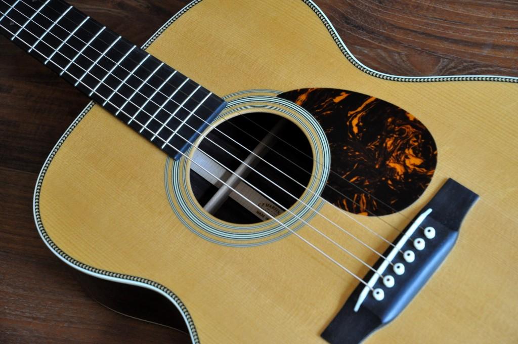 Ma nouvelle guitare: Martin OM28V Omm28v10