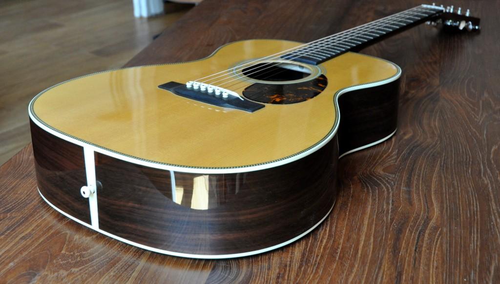 Ma nouvelle guitare: Martin OM28V Omm28v12