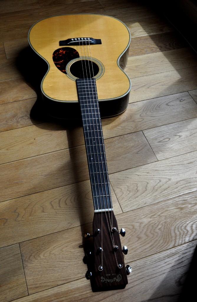 Ma nouvelle guitare: Martin OM28V Omm28v16