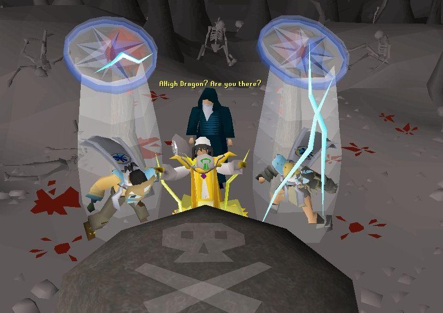 into the death altar... Oldman10