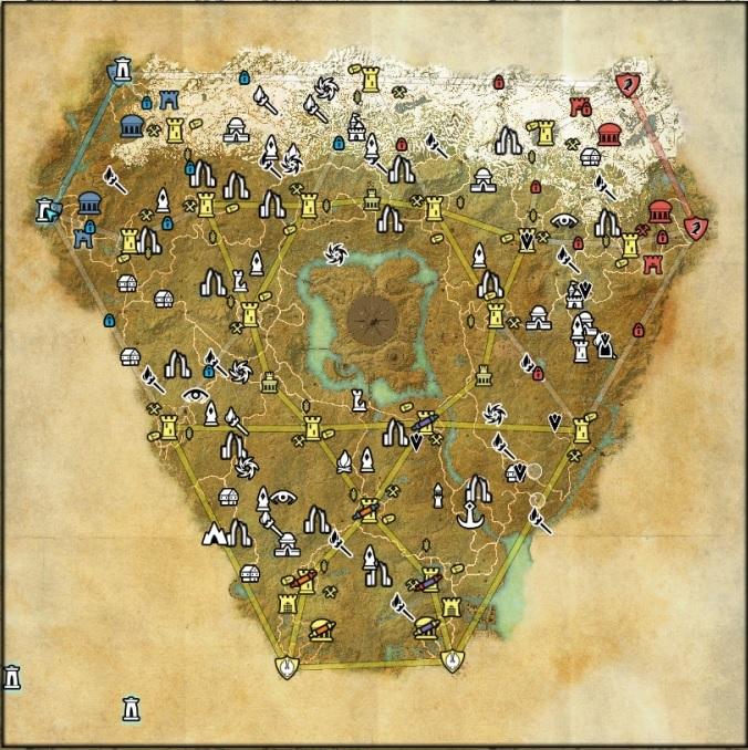 Map cyrodil+ base RvR Cyrodi11