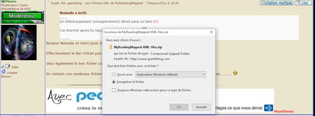 geartblog : Les Fichiers KML de MyReadingMapped Captur13