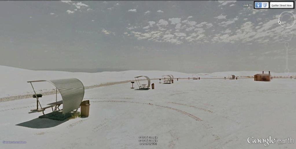 White Sands, Nouveau Mexique. Picnic11