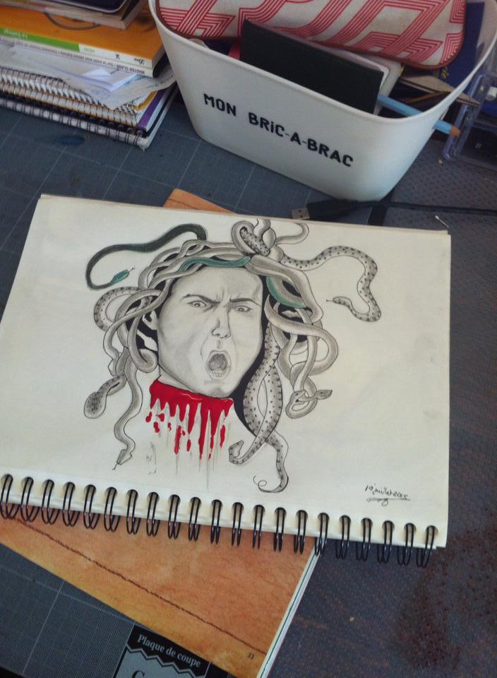 La tête de Meduse-Caravage Medusa10