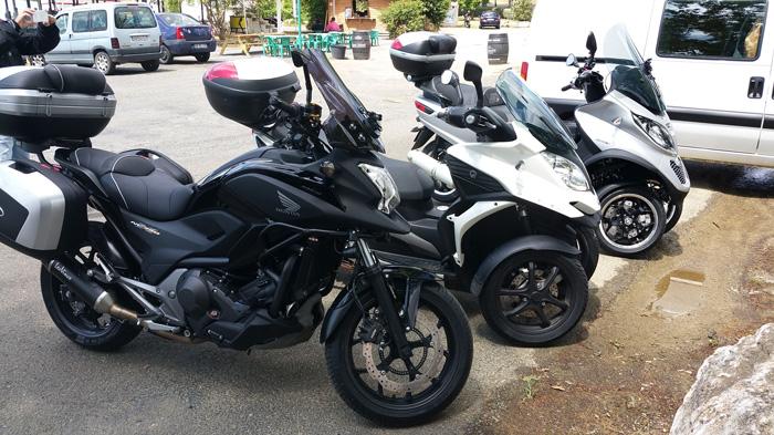 CR (Photos & Vidéo) - TSO - 19/07/2015 - Sortie tour du Gers Auch et son Pays Moto0210