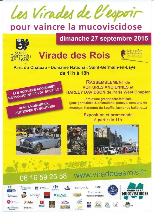 La Reine soutient les Rois le 27 sept 2015 à St Germain en Laye 00110