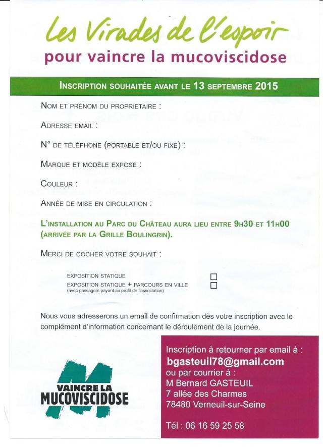 La Reine soutient les Rois le 27 sept 2015 à St Germain en Laye 00210