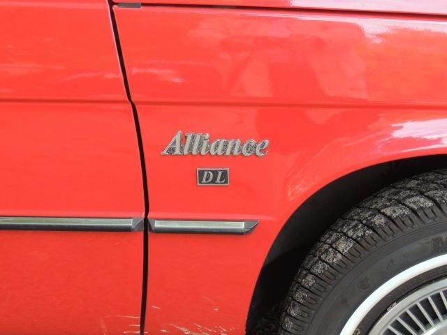Renault Alliance cabriolet de 1984 Dscn3917