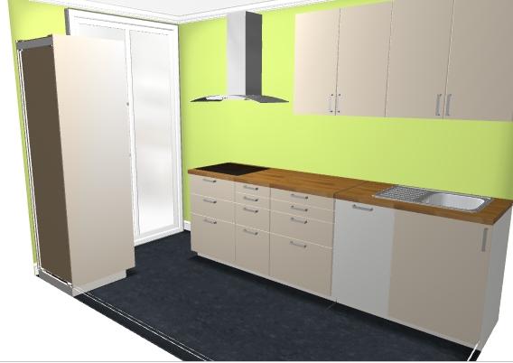 Nouvelle cuisine ouverte Config11