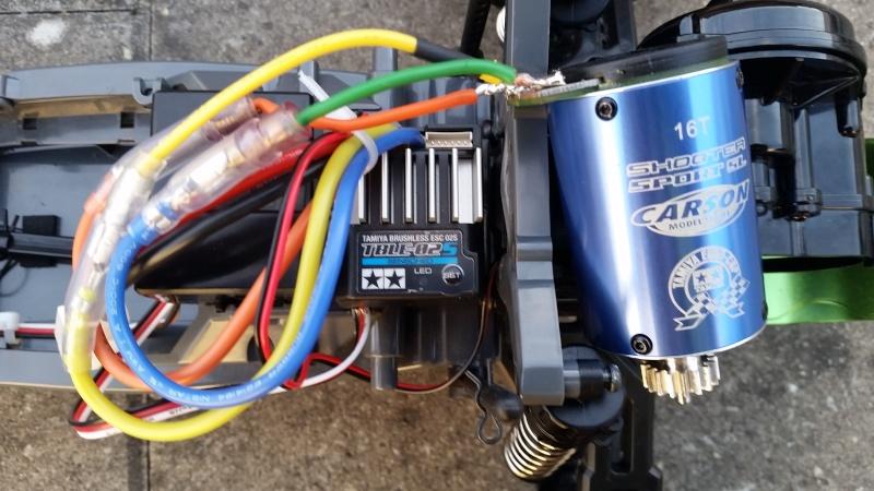 Motor Problem Carson Sport 16T 20150810
