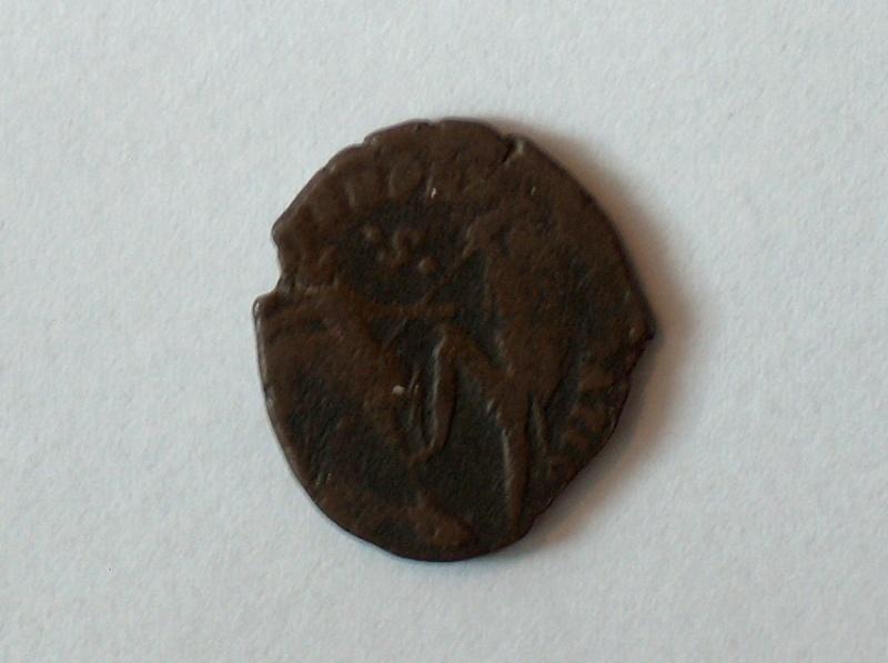 nummus  Constance II 613f10