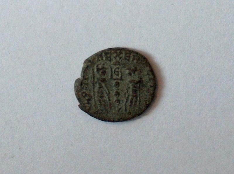 nummus  Constance II 641f10