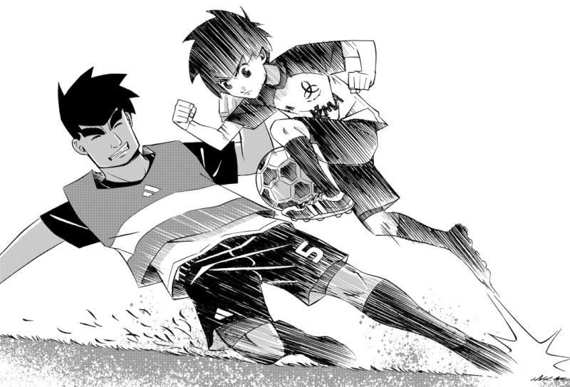 L'Équipe Z, un manga de foot Français ! L_yyqu11