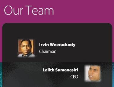 Sri Lanka: Advertising MEGA Deal - 'Bond Scam's Central Bank''s Public Debt Department Invader Malik Samarawickrama and Perpetual Treasuries Annual Report Deal Maker Phoenix Ogilvy Advertising King Irvin Weerakkody in UNF Good Governance National List Irvinw10