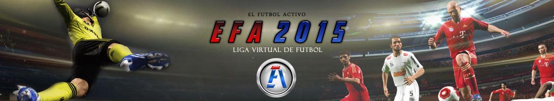 EFA - Liga virtual de futbol Logo210
