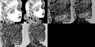 Faces pour jeu d'horreur Doll10