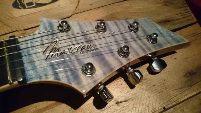 Marceau Guitars - Ma DLP Faded Denim - Dlp410