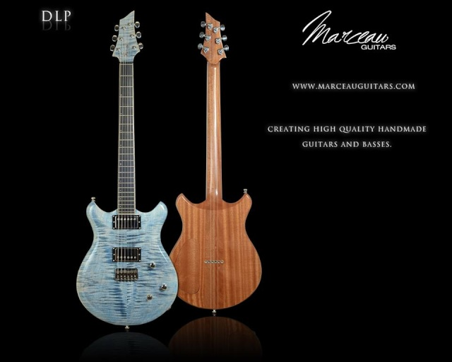 Marceau Guitars - Ma DLP Faded Denim - Dlp610