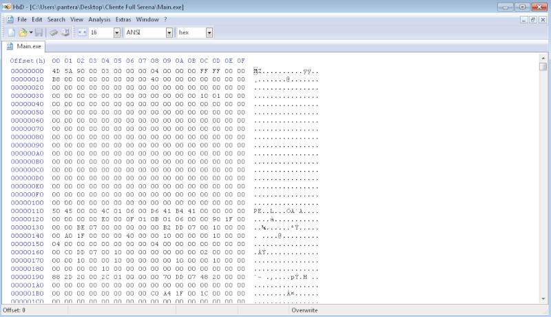 Editor Exadecimal Para Cambiar IP Del Cliente Fff10