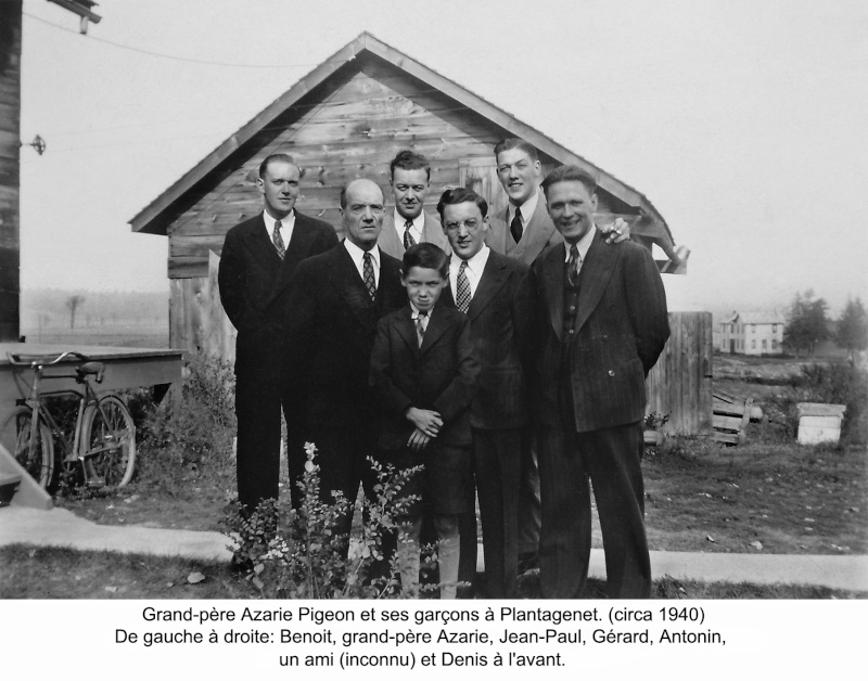 Collection de photos de la famille Pigeon. 0027_g12