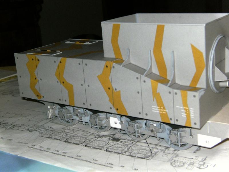 Fertig - Lok BR 52 von Modelik 1:25 gebaut von Lothar Bild2111