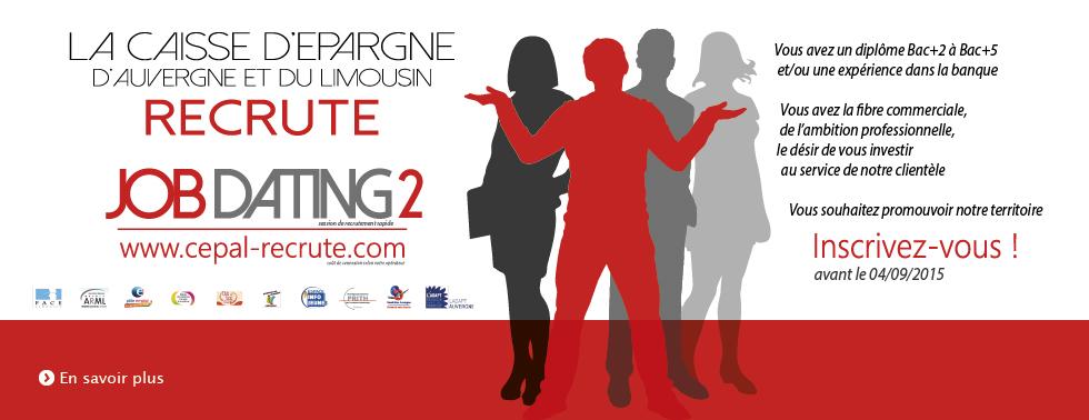 La Caisse d'Epargne d'Auvergne et du Limousin lance une opération de Job Dating sur ses territoires 6-band10