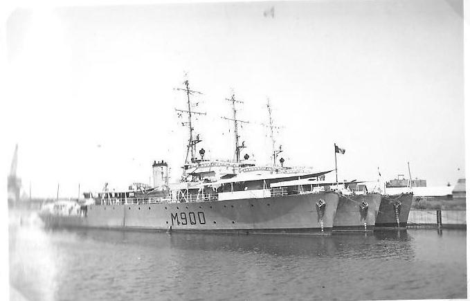 M902 J. E. Van Haverbeke (ex HMS Ready) M90011