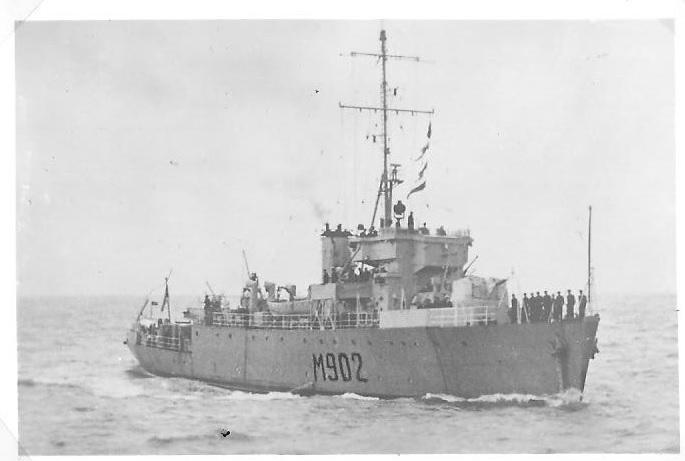 M902 J. E. Van Haverbeke (ex HMS Ready) M90211