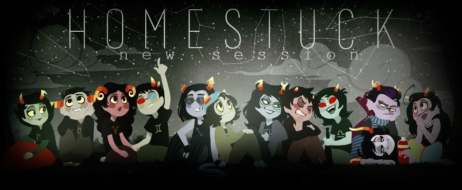 Homestuck New session