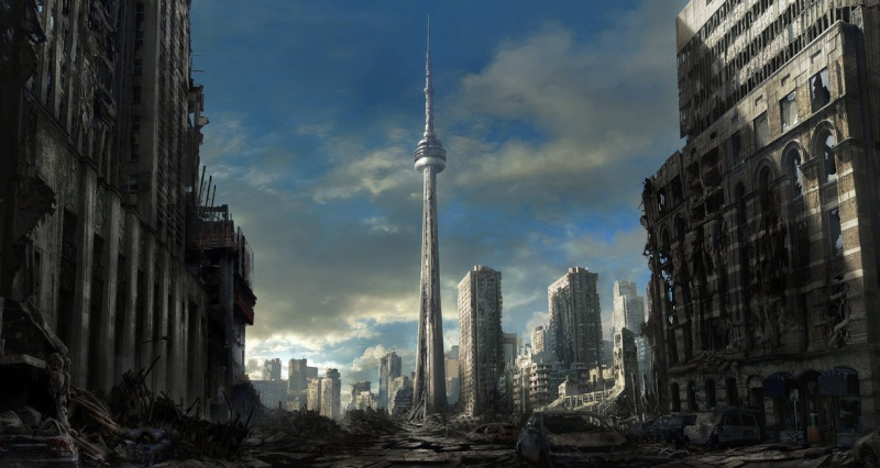 Vnútorná časť mesta Toront10