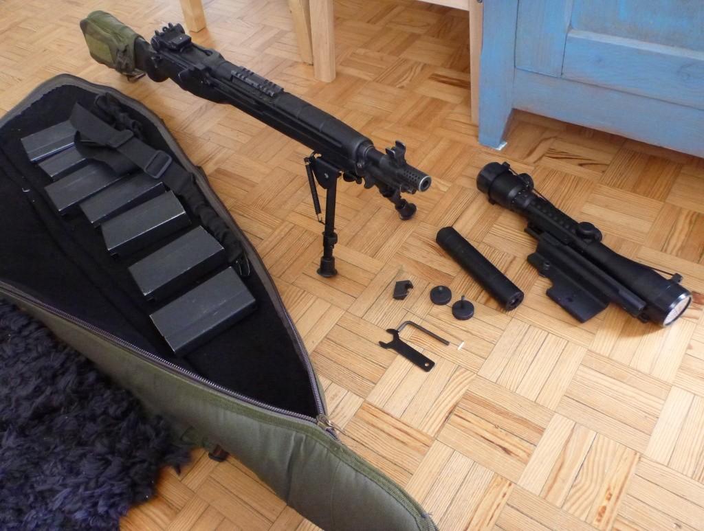 magnifique et legendaire M14 SOCOM de MARUI P1130924