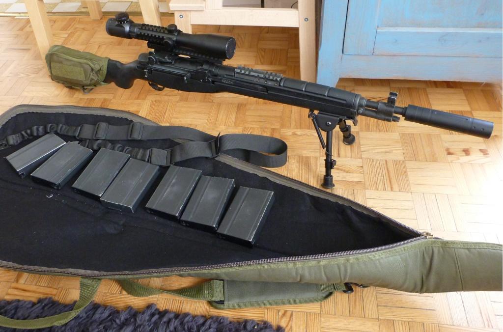 magnifique et legendaire M14 SOCOM de MARUI P1130925