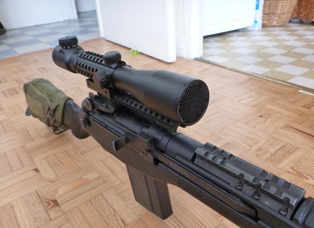 magnifique et legendaire M14 SOCOM de MARUI P1130930