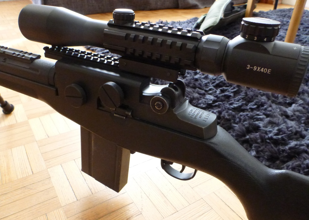 magnifique et legendaire M14 SOCOM de MARUI P1130931