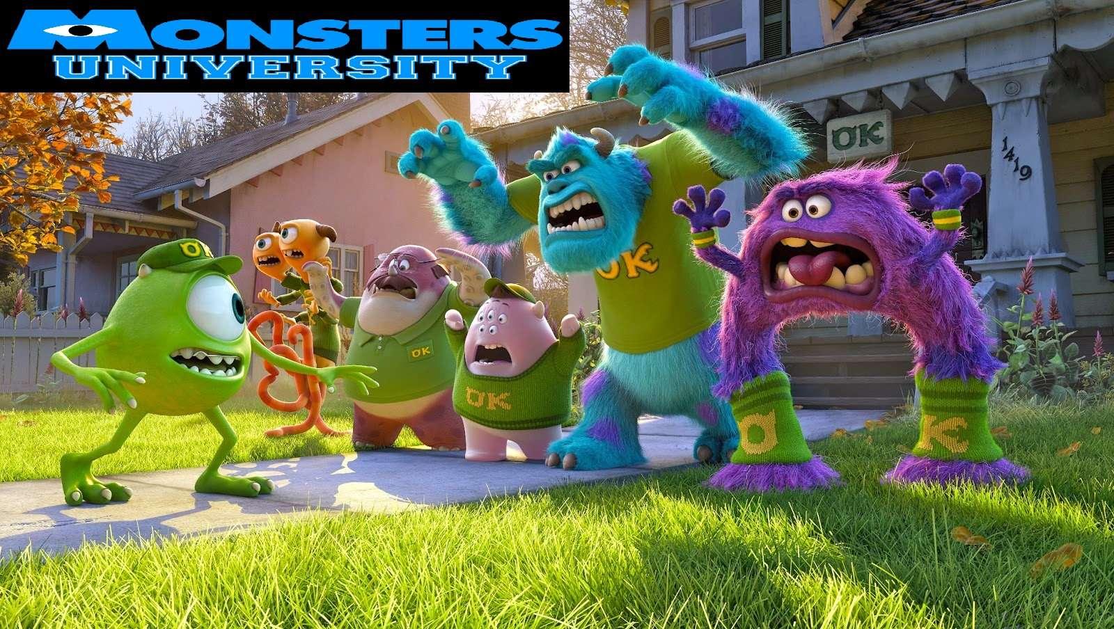 Bienvenidos a Monster University Oh Yeah