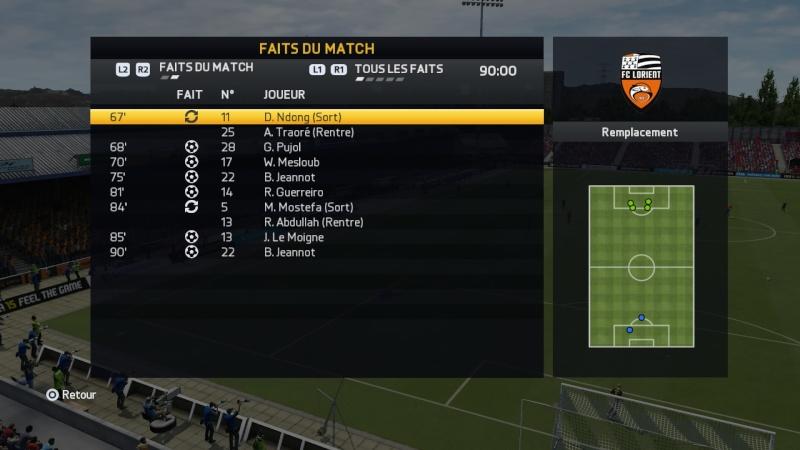 Gazelec Ajaccio - Lorient Fifa_123