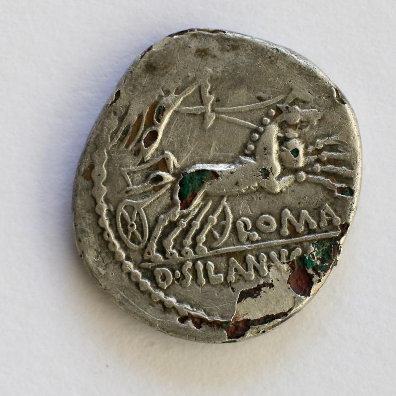 Identification denier romain argent bige Denier13