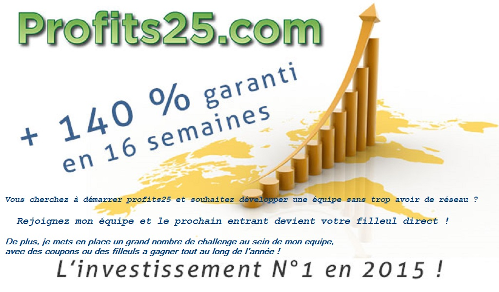 forum & Facebook Profits25 avis