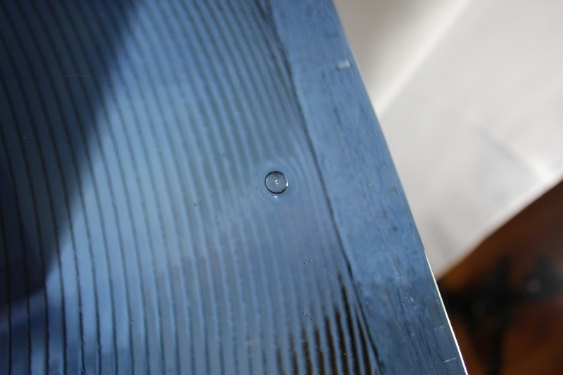 "30"" x 12"" x 4"" Huge Art Glass monolithic blue  Img_1215"