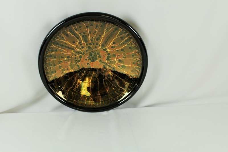 """Large Charger Black and Gold 18"""" x 4"""" Img_1715"""