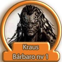 Kraus • Meio-orc Bárbaro nv1 Avatar11