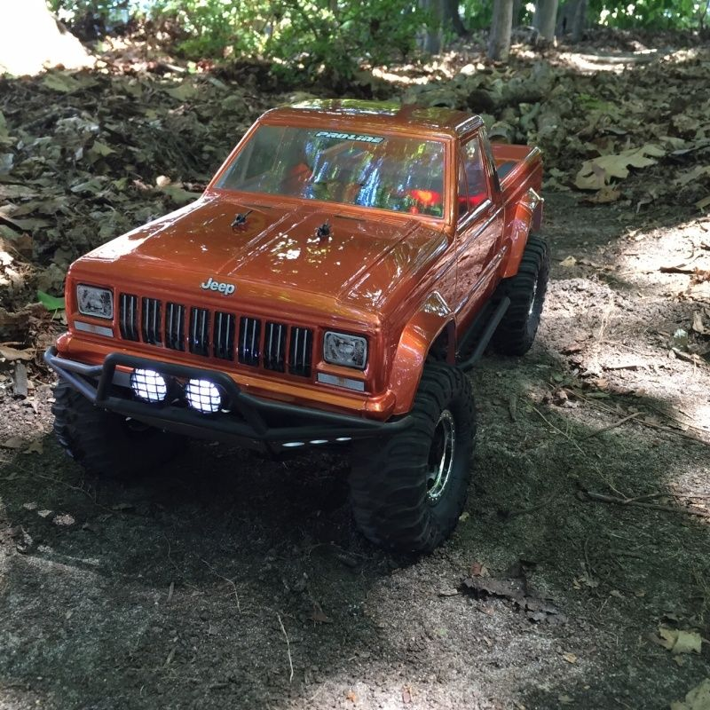 jeep - NEWBIE SCX10 Jeep Comanche! 114