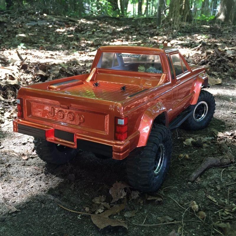 jeep - NEWBIE SCX10 Jeep Comanche! 214